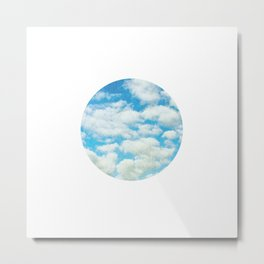 Circle Sky IV Metal Print