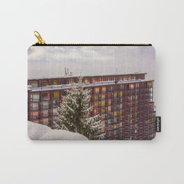 Mountain architecture colorful Carry-All Pouch