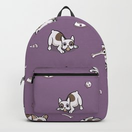 Sweet Frenchie Bulldog Puppies Pattern Backpack