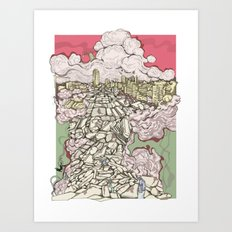 Deconstruction3 Art Print