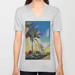 Palm Road Unisex V-Neck