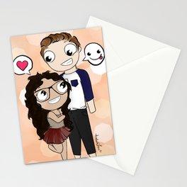 Cartoon Me: Nathalie & Ryan Stationery Cards