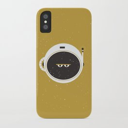 The Spaceman on the Sun iPhone Case