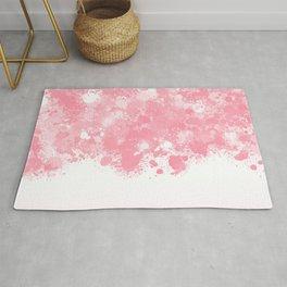 paint splatter on gradient pattern bbpw Rug