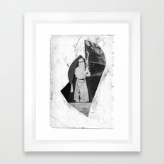 mystic bones Framed Art Print