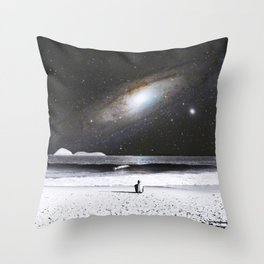 The Old Man and the Sea Throw Pillow