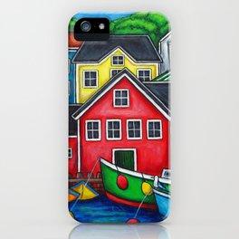 Colours of Lunenburg iPhone Case