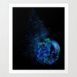 A Drop of Sea Art Print