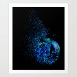 A Drop of Sea Art Print