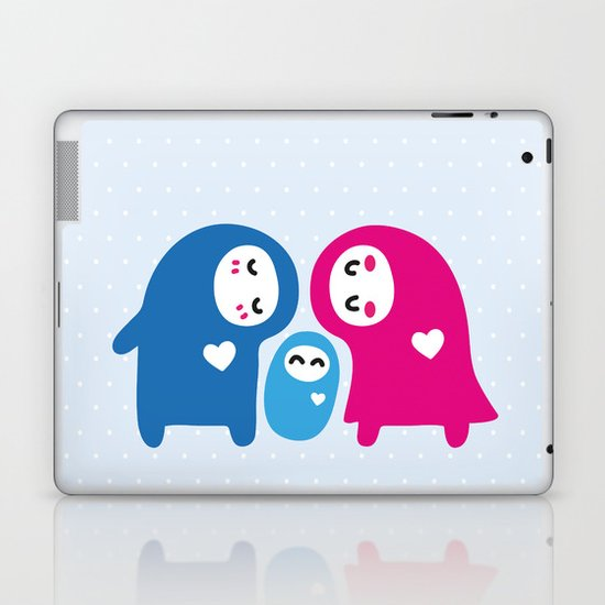 Lovely Family Laptop & iPad Skin