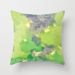 Abstract painting X 0.4 Throw Pillow