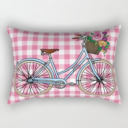 Her Bicycle Rectangular Pillow