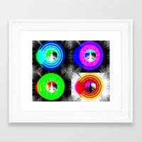 bioshock Framed Art Prints featuring Bioshock Explosions by Bradley Gutierrez