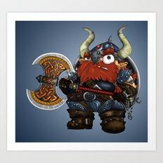 dwarf Art Print