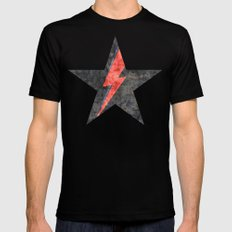 BlackStarMan (waiting in the sky) X-LARGE Mens Fitted Tee Black
