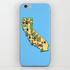 Super California iPhone & iPod Skin