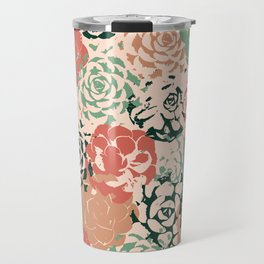 Stamped Succulents Travel Mug