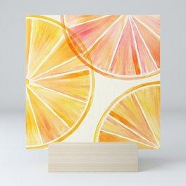 Sunny Citrus Mini Art Print