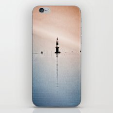 Fishing Near The Lighthouse iPhone & iPod Skin