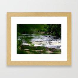 The River Falls! Framed Art Print