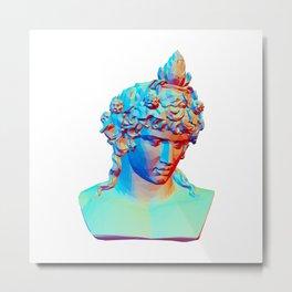 Bust of Antinous as Dionysus Metal Print