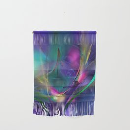 Blue motion Wall Hanging