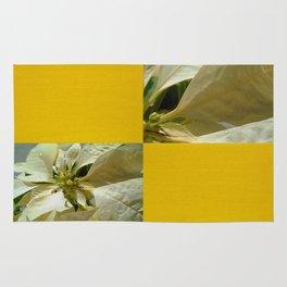 Pale Yellow Poinsettia 1 Blank Q7F0 Rug