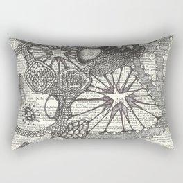 Globby Blobs Rectangular Pillow