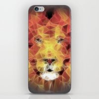 the lion king iPhone & iPod Skins featuring lion king by Ancello