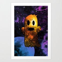 Space Ghost V2.0 Art Print