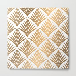 Decorative art pattern Metal Print