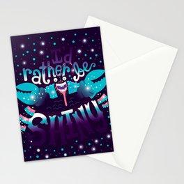 Shiny v2 Stationery Cards