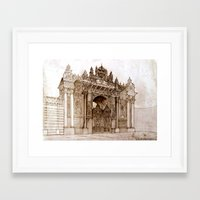 istanbul Framed Art Prints featuring Istanbul by takmaj