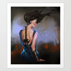Woman of Wonder Art Print