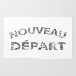 Nouveau Départ - Fresh Start Rug
