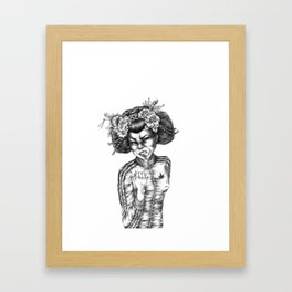 Culture Shock Framed Art Print