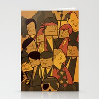 the goonies Stationery Cards featuring The Goonies by Ale Giorgini