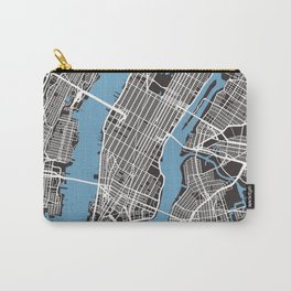 New York Map | Black | More Colors, Review My Collections Carry-All Pouch