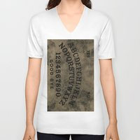 ouija V-neck T-shirts featuring Ouija by Andrea Raths