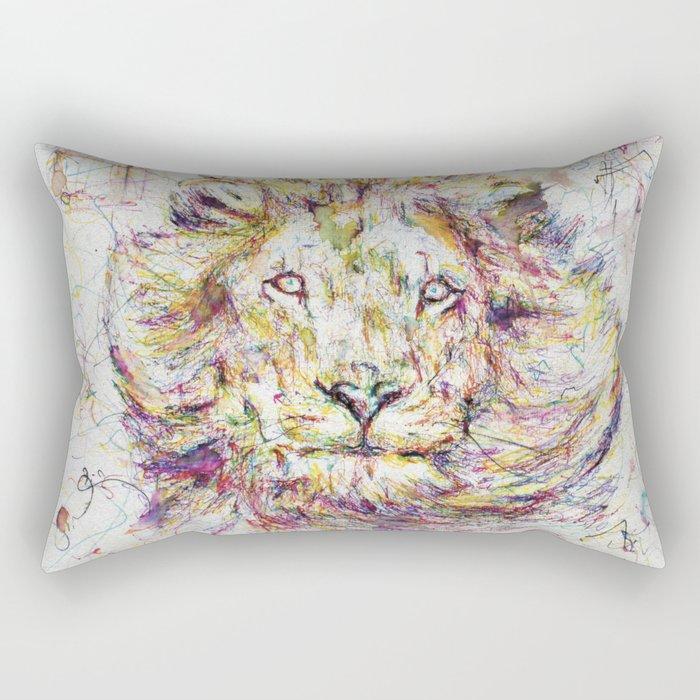 Lion // Tarmuk Rectangular Pillow