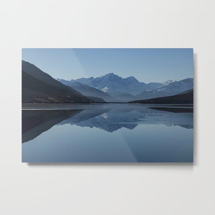 Idyllic Lake Metal Print