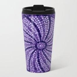 Ultra Violet Stone Tiles 18-3838 Metal Travel Mug