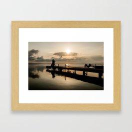 Albufera I Framed Art Print