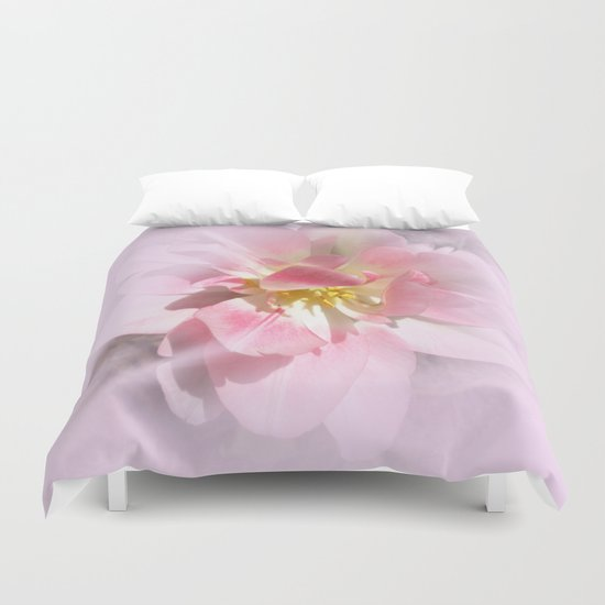 Fancy Pink Tulip Abstract Duvet Cover