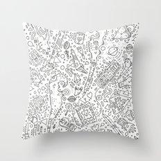 koznoz Throw Pillow