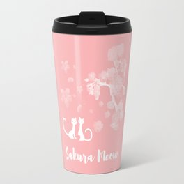Sakura Cats Travel Mug