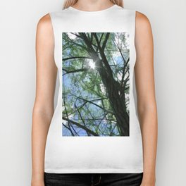 Oak Tree Top Biker Tank