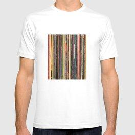 Alternative Rock Vinyl Records T-shirt