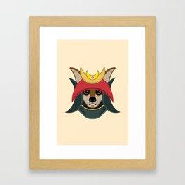Daimyo Dog Framed Art Print