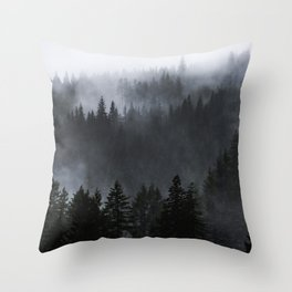A Walk in the Woods - 23/365 Throw Pillow